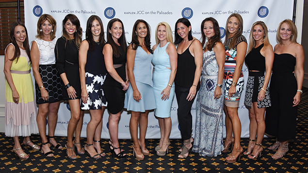 The auction committee included Danielle Kaplan, special events chair Amy Zagin, Jennifer Zuckerman, Sari Perrino, Jennifer Zeccardi, incoming event chair Tracy Reichel, auction chair Tara Jagid, Alana Hurewitz, Audrey Gabel, Jeanine Casty, Jill Rubach, and Melissa Garden.
