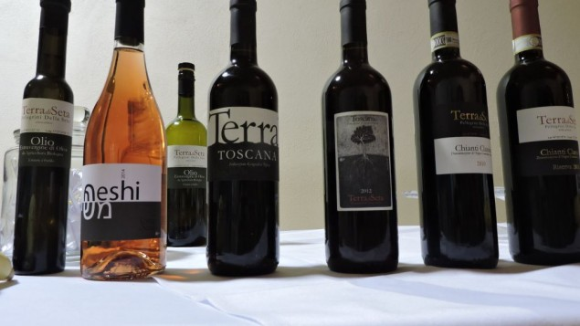 Terra di Seta is the only fully kosher winery in the Tuscan wine-making region of Chianti. Its goal is to produce kosher wines that match the quality of local wines produced there for centuries. (Ben Sales)