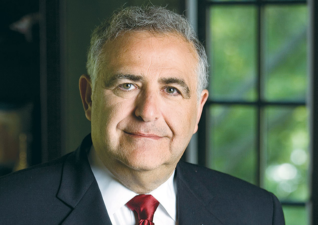Richard Joel, Yeshiva University's fourth president, said he will leave modern Orthodoxy's flagship institution by the time his contract expires in 2018. (Yeshiva University)