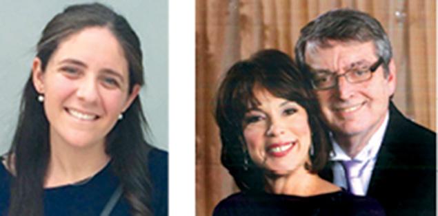 Sarah Struhl, left, and Mindy and Muttie Stein