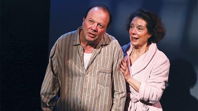 "Avi Hoffman and Suzanne Toren in ""Death of a Salesman"""