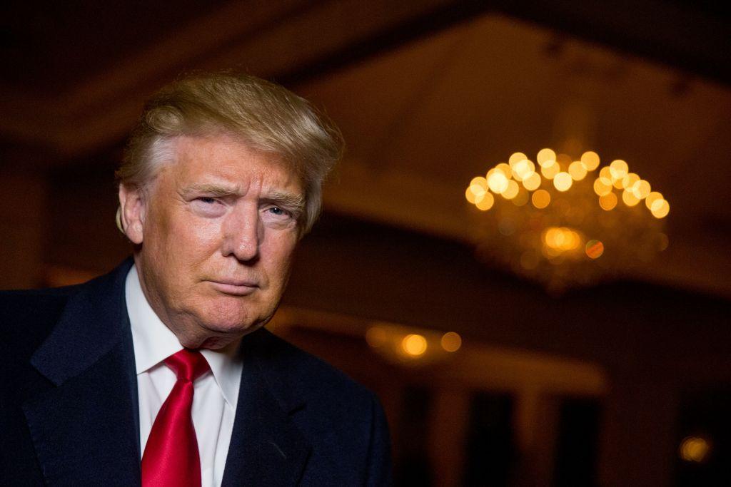 Republican Presidential frontrunner Donald J. Trump.