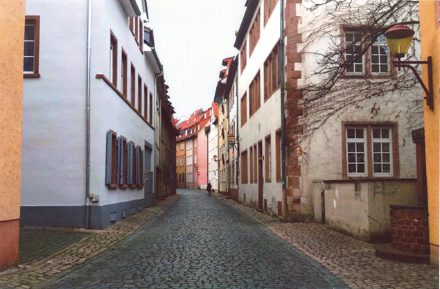 Worms' Jewish quarter, destroyed during the war and then rebuilt, had been home to the city's leftists and artists.