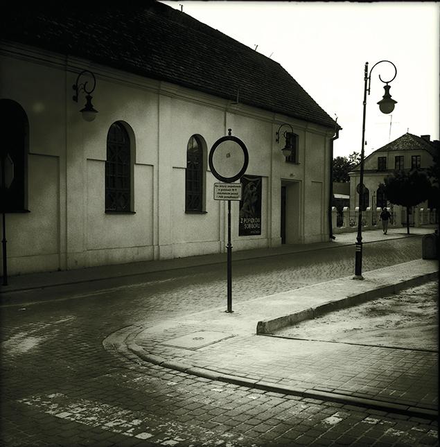 The beit midrash, next to the Great Synagogue, in Wlodawa. (Jerzy Durczak)