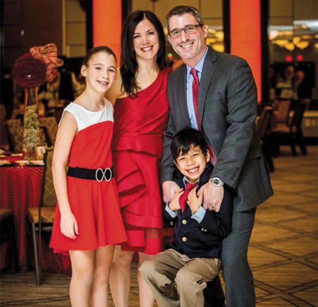 Phyllis and Darren Sudman with their surviving children.