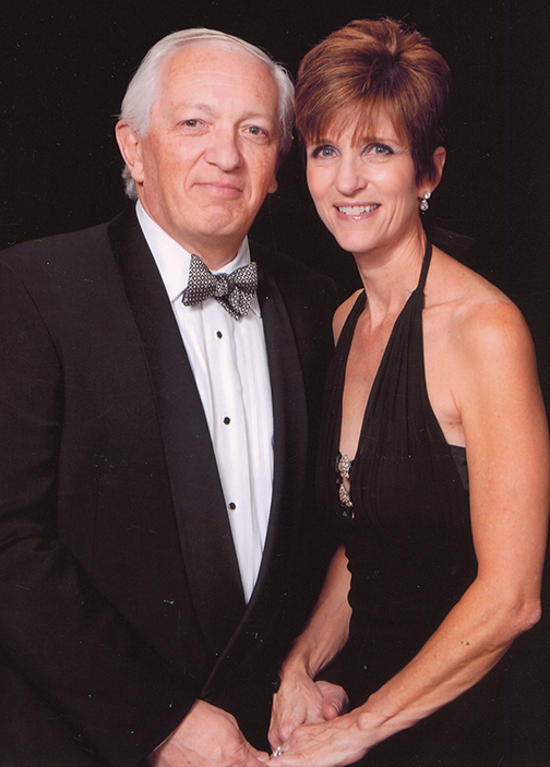 Dr. Alex Zapolansksi and his wife, Laurel Mangarelli