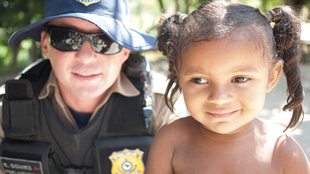 Brazil leads the world in rescuing people from slavery, with heavily armed special police squads equipped with drones. Typically, an escaped slave will seek sanctuary at religious safe sites, and activists will refer their case to authorities for action. Police then raid farms or factories, freeing everyone still trapped in slavery — even children. (Robin Romano)
