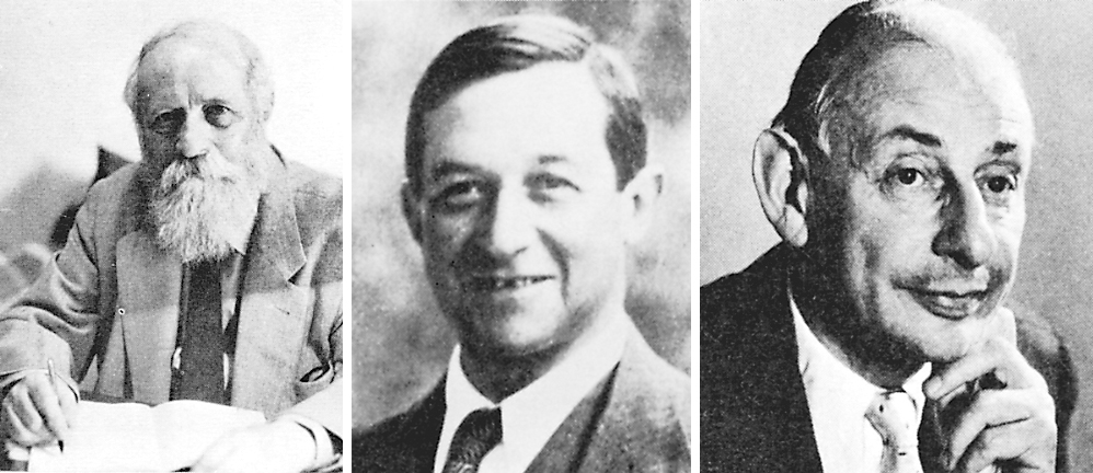 Martin Buber, Judah Magnes, and Gershom Scholem