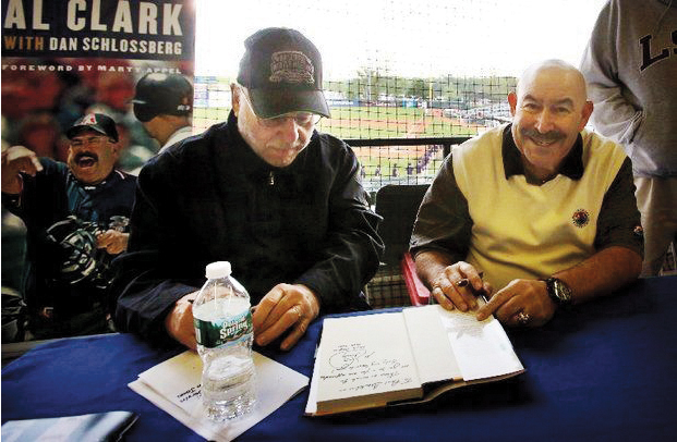 """Al Clark was one of baseball's few Jewish umpires. He and Dan Schlossberg co-wrote his memoir, """"Called Out But Safe."""""""