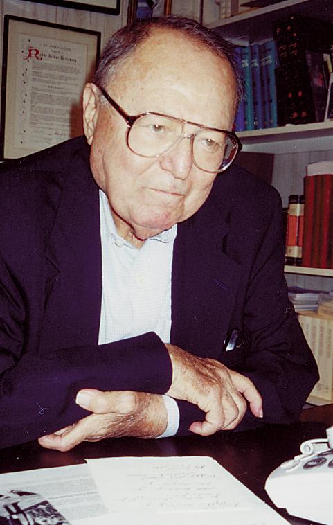 Rabbi Arthur Hertzberg