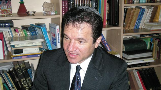 Rabbi Marcelo Polakoff is the rabbi of Córdoba, a province in central Argentina. (Noga Tarnopolsky)