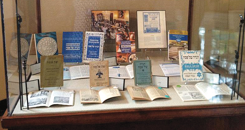 In 2012 the White House hosted a display of Maxwell House haggadahs.
