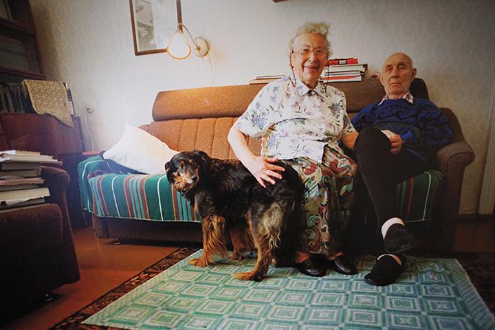Bluma and Kalman Katz fled to Siberia.