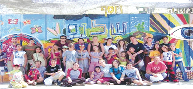 Camp Koby helps bereaved children, shown here in 2015, to heal.