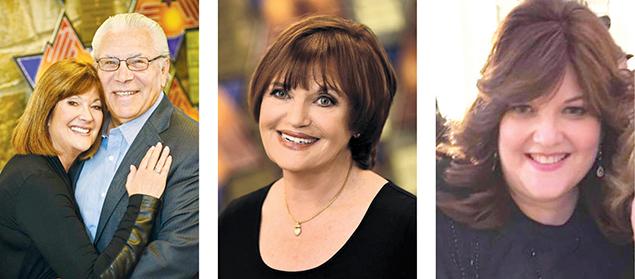 Lyn and Hank Meyers, left, Dr. Joan Black, and Lauren Lipoff