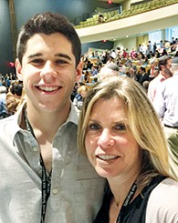 Donna Weintraub with her son Cory.