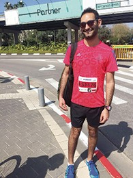 Mr. Fox recently ran a half-marathon in Tel Aviv.
