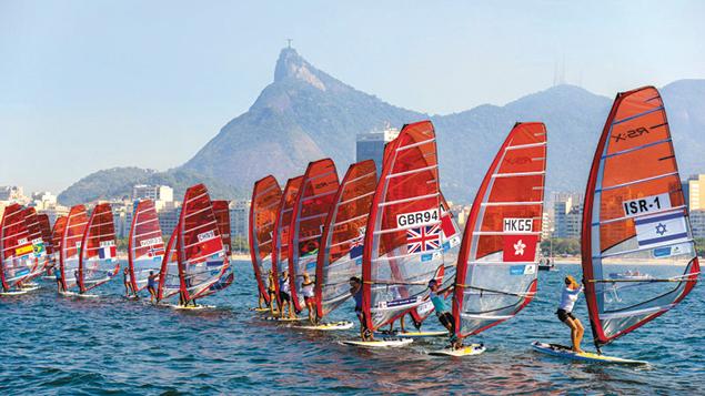 Rio 2016's first test event, in August 2014, was an international sailing regatta that drew 326 athletes from 35 countries.  (Alex Ferro)