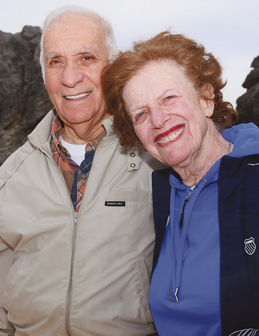 Bob and Helen Levine have been married for 65 years.