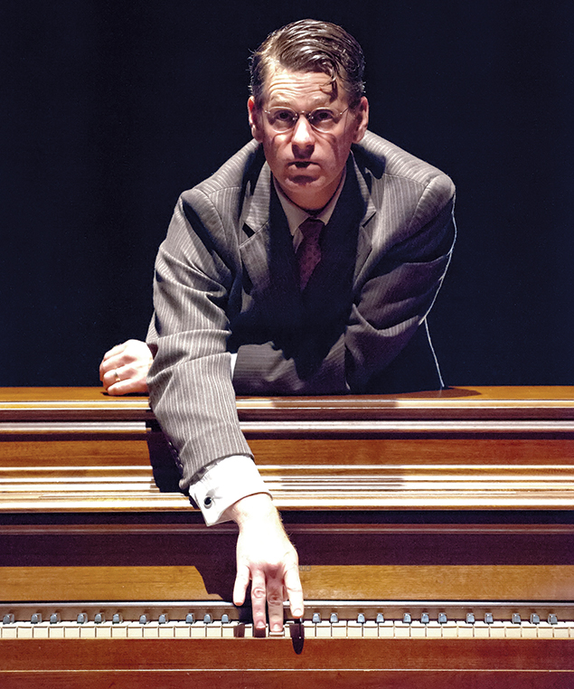 "Michael Kaye plays Professor John Halder in ""Good."" (Photos by Stan Barouh)"