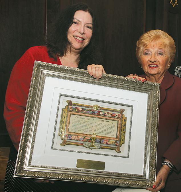 Rabbi Debra Orenstein and Hanna Wechsler