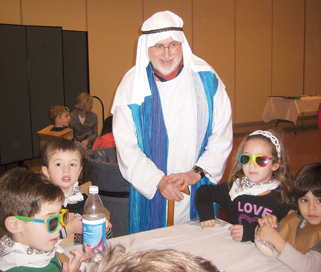 Last Pesach, Rabbi Hammerman was Moses at Congregation Agudath Israel in Caldwell, N.J.