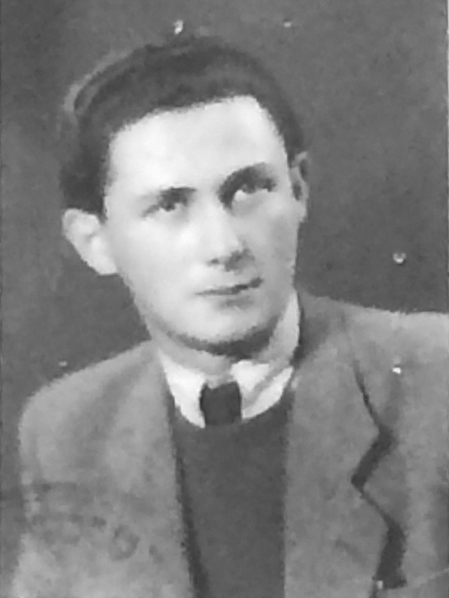 Andre Friedman as a student