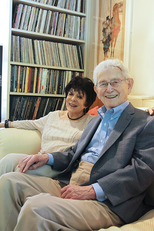 Rita and Andre Friedman