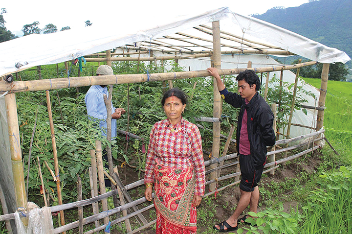 Tevel's Income Generation project in Dolakha supports 180 farmers with training and provides supplies for off-season vegetable cultivation.