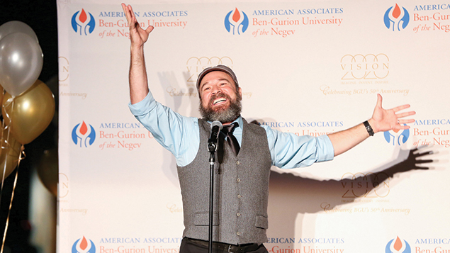 """Actor Danny Burstein as Tevye sings """"If I Were a Rich Man."""" (Photos by Michael Priest Photography)"""