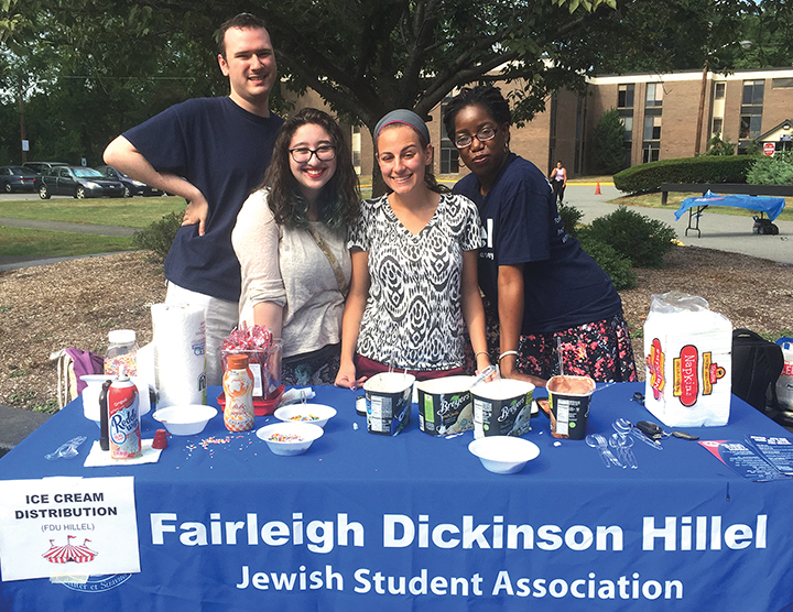 The JCRC and local Hillels, all part of the Jewish Federation of Northern New Jersey, work together.