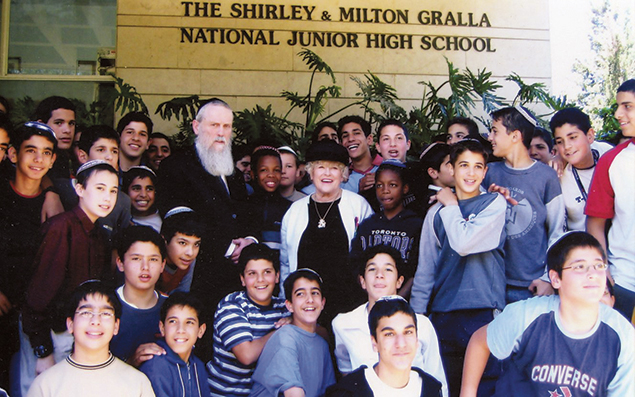 The Grallas established a school at Boys Town Jerusalem in 1971, at the request of Israel's ministry of education. It's for both day and boarding students.