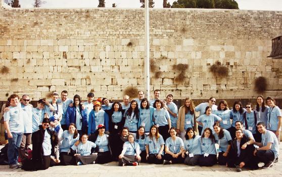 Taglit-Birthright Israel brings Yachad participants to Israel.