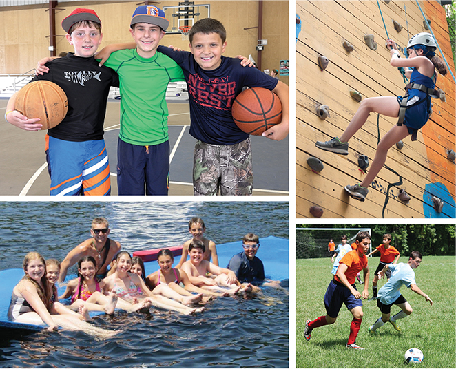 Camp offers an immersive Jewish atmosphere. it's also fun, as these photos show.