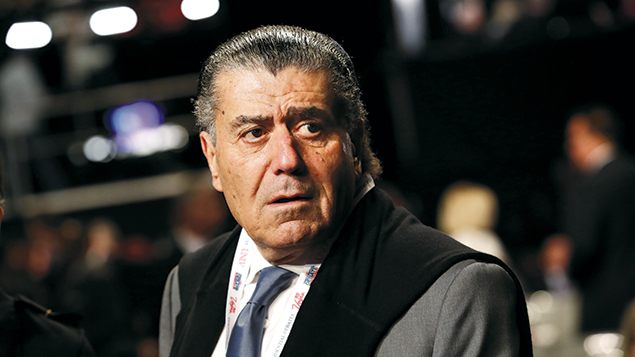 Haim Saban in Las Vegas earlier this year.