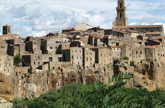 Jews began settling in the Tuscan hill town of Pitigliano in the 15th century. wikimedia commons