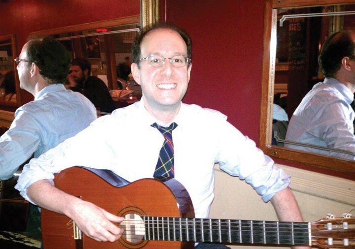 Rabbi Unger majored in classical guitar at the Manhattan School of Music.