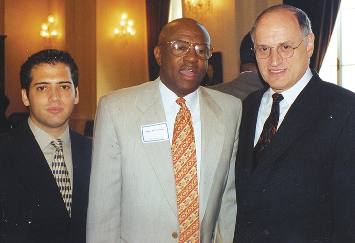 That day, Mr. Cohen accompanied his employer, Ed Towns, and Malcolm Hoenlein, then as now head of the Conference of Presidents of Major American Jewish Organizations.