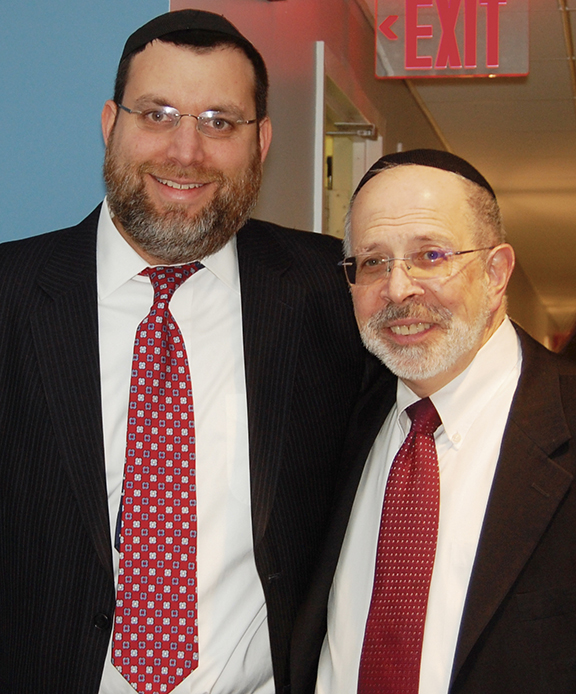 Rabbi Chaim Poupko, who worked with Rabbi Goldin for 13 years, will take over as senior rabbi.
