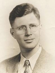 Dr. Abraham Nemeth in 1945; he was 27.