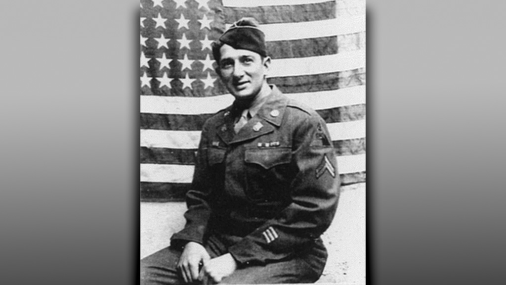 Harry Feinberg  when he was a tank commander under General George Patton.