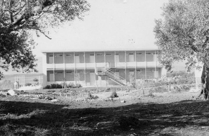 A building on Kibbutz Lavi in 1967.