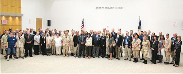 A reunion of the medical professionals who worked on identifying victims of the 9/11 attacks.