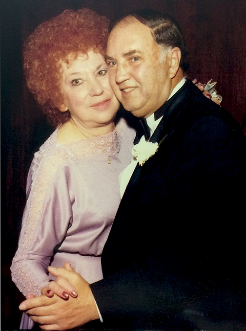 Edith and New York City Police Detective Fred Emert.