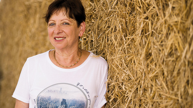 Michal Kraus is the executive director of the Israeli Dairy Board. (Roy Berkovich/Israeli Dairy Board)