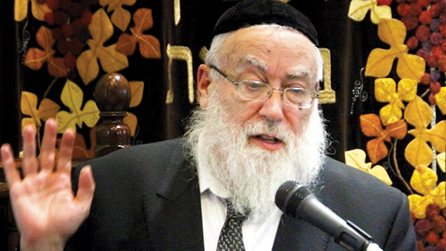 Rabbi Nachum Eisenstein (Courtesy Nach'm Eisenstein)
