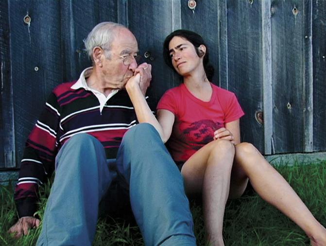 Franz Leichter and his daughter, Kathy. (Kirsten Johnson)