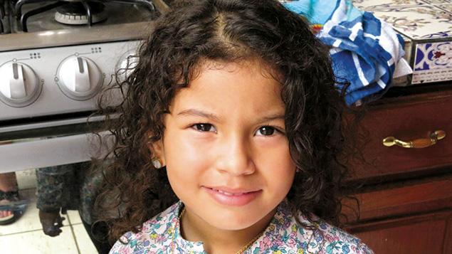 A young Nicaraguan girl is among a growing Jewish community in Managua.
