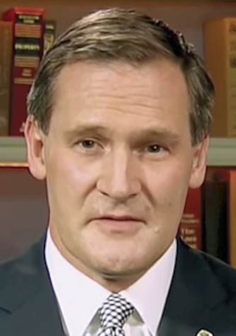 "Charlottesville's Mayor Michael Signer speaks on ""Meet the Press"" on August 14. Screenshot from YouTube"