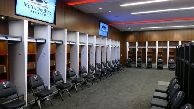 Mercedes Benz Logo >> Photos: Mercedes-Benz Stadium Ready for Football - Atlanta